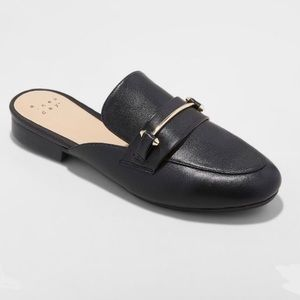 A New Day Remmy Backless Loafers Size 6.5, NWT
